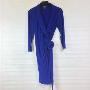 Lauren by Ralph Lauren wrap dress size 4